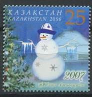 102 KAZAKHSTAN 2006 - Nouvel An Bonhomme De Neige - Neuf Sans Charniere (Yvert 477) - Kazakhstan