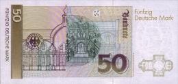 GERMANY FEDERAL REPUBLIC P. 40c 50 M 1993 UNC - 50 Deutsche Mark