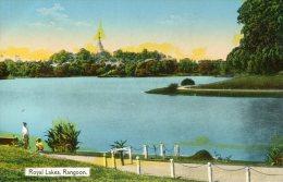 MYANMYR (Burma) -  Royal Lakes RANGOON - Nicely Animated - Myanmar (Burma)