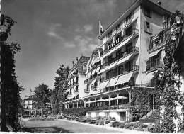 SUISSE Switzerland Schweiz ( LU )  LUCERNE : CARLTON HOTEL TIVOLI - CPSM Dentelée Noir Blanc Grand Format - LU Luzern