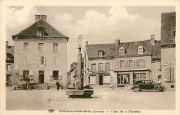 CPA Chatelus Malvaleix-Place De La Fontaine   L2005 - Chatelus Malvaleix