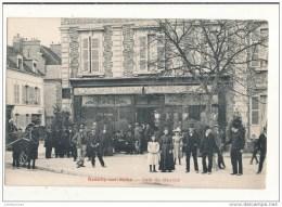 10 ROMILLY SUR SEINE CAFE DU MARCHE CPA BON ETAT - Romilly-sur-Seine