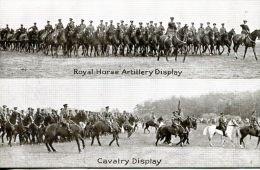 N°46582 -cpa Royal Horse Artillery Display -cavalry Display- - Regiments