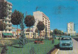Mestre - Corso Del Popolo - Fiat 1100 - Filobus Trolleybus FG VG 1959 - Venezia (Venice)