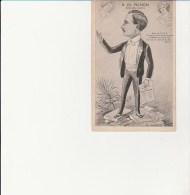CARTE ESPERANTO - R.CH. PICHON .- SIGNE JEAN ROBE - - Esperanto