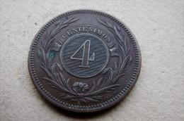 4 Centesimos 1869 - Uruguay