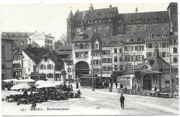 Basel NA1: Barfüsserplatz ( Tramway ) - BS Bâle-Ville
