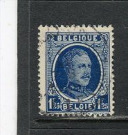 BELGIQUE - Y&T N° 206° - Albert 1er - 1922-1927 Houyoux
