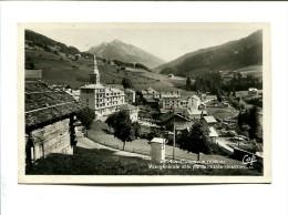 Cp - LA  CLUSAZ (74) - Vue Générale Et Le Pic De L'Etale - La Clusaz