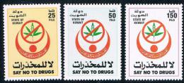 WA0086 Kuwait 1998 3 New 0911 Anti-drug Campaign - Kuwait