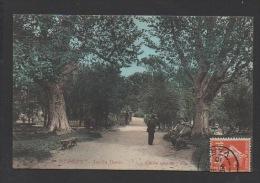DF / 83 VAR / HYÈRES / JARDIN DENIS / ANIMÉE / CIRCULÉE EN 1910 - Hyeres