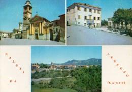 Saluti Da Lesegno (Cuneo) - Other Cities