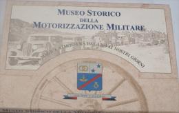 ITALIA - FOLDER 24 CARTOLINE  DEL MUSEO STORICO DELLA MOTORIZZAZIONE MILITARE DI ROMA - Cataloghi