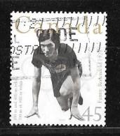 CANADA 1996, USED  #1610,  OLYMPIC GOLD MEDALLISTS: FANNY ROSENFIELD 400m Relay 1928 - 1952-.... Règne D'Elizabeth II