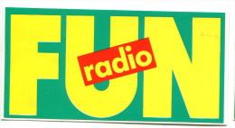 Lot De 7 Autocollants FUN Radio - Adesivi