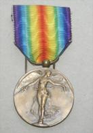 BELGIO 1914-1918, MEDAGLIA DI BRONZO DELLA GRANDE GUERRA - Belgique