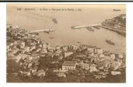 LL129 Selecta - Monaco : Le  Port , Vue Prise De La Turbie - Casino