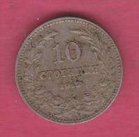 F5404 / - 10 Stotinki - 1913 - Bulgaria Bulgarie Bulgarien Bulgarije - Coins Monnaies Munzen - Bulgarije