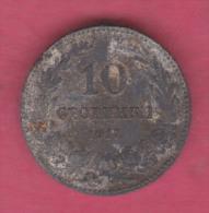 F5436 / - 10 Stotinki - 1917 - Bulgaria Bulgarie Bulgarien Bulgarije - Coins Monnaies Munzen - Bulgaria