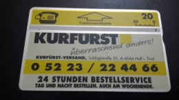 Austria-(p87)-kurfurst-(209l)-(20units)-tirage-8.000+1card Prepiad Free - Austria