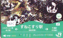 MANGA * Télécarte Japon * * Cinéma * ANIMATE  (14.675) PHONECARD JAPAN * MOVIE * FILM - Film