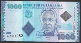 TANZANIA : Banconota 1000 Scellin I- 2010  -  FDS - Tanzania