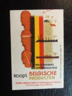 Belgische Producten Advertissing Vignette Poster Stamp Label Belgium - Commemorative Labels