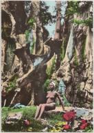 Postal Guiné Portuguesa - Bissau - Rapariga E O Poilão - Femme Seins Nus - Topless Woman - Carte Postale - Postcard - Guinea-Bissau