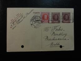 1926 Bruxelles To VALLETA MALTA Postal Stationery Card Belgium - Entiers Postaux
