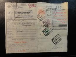 1964 STATTE REMBOURSEMENT Spoorweg Chemins De Fer Colis Postaux  Belgium - 1952-....