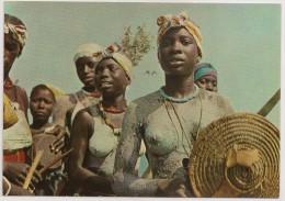 Postal Guiné Portuguesa - Folclore - Femme Seins Nus - Topless Woman - Carte Postale - Postcard - Guinea-Bissau