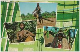 Postal Guiné Portuguesa -Bissau- Característico Dos Bujagós - Femme Seins Nus - Topless Woman - Carte Postale - Postcard - Guinea-Bissau