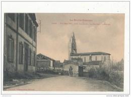 31 PUYDANIEL PRES AUTERIVE LA MAIRIE L EGLISE CPA BON ETAT - Francia