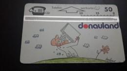 Austria-(p260)-donauland1-(408l)-(50units)-tirage-20.000+1card Prepiad Free - Austria