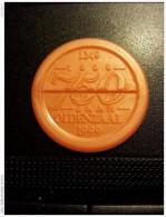 750 Jaar Oldenzaal-Netherlands Consumptiemunten  (  Plastiek Jeton / For Grade And Details, Please See Photo ) ! - Pays-Bas