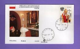 Vaticano - 1991 - Visita Di Giovanni Paolo II A CZESTOCHOWA E In UNGHERIA. POLONIA - KRAKOW  Vedi Descrizione - FDC