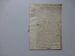 17 La Clotte 1828 Procès échange Domaine De JOULINS ? Catherineau, Millet, Feuillet ? Etc ; Ref 588 V 10 - Documents Historiques