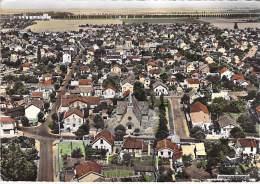 93 - VILLEPINTE : Le Quartier De L'Eglise : Vue Aérienne - CPSM Dentelée Noir Blanc GF ( A Priori 1967 ) Seine St Denis - Villepinte