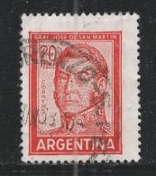 Argentina 1967. Scott #698A (U) General Jose De San Martin - Argentine