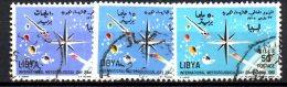 LYBIA LIBIA 1965 , Serie N. 175/77  (yvert N. 264/266)   Usato . Meteorologica - Libia