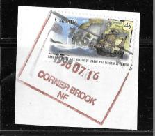 CANADA 1997, USED  #1649    JOHN CABOT  STAMP On Paper - 1952-.... Règne D'Elizabeth II