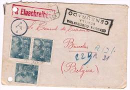 1941, De Sevilla à Bruxelles - 2 Scans - Guerre 40-45