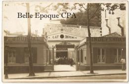 17 - SAINTES - Alphonse GAY - Imprimeur � Saintes - Administration de l'Ind�pendant +++++++ x2 CARTE-PHOTO +++ TOP