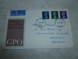 Carte Grande Bretagne 1967 Cachet Dundee  (courrier Non Ouvert) A Decouvrir - Lettres & Documents