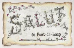 """1 - Salut De Pont-de-Loup """"Paillettes"""" - Aiseau-Presles"""