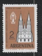 Argentina 1962, Scott #738 (MNH) Church Of The Virgin Of Lujàn - Argentine