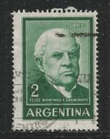 Argentina 1962. Scott #742 (U) Domingo F. Sarmiento - Argentine