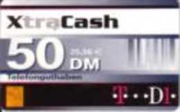 Germany - DM 50 Prepaidcard - D1 - Victorvox - XtraCash  -due Date 31.12.2001- X 13.07a - [2] Prepaid