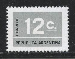 Argentina 1976. Scott #1112 (M) Numeral Stamp - Neufs