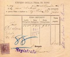 1893 NOVI PESA PUBBLICA - Italia